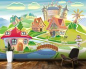 Fairytale Land and Castle wall mural kitchen preview