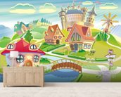 Fairytale Land and Castle wall mural living room preview