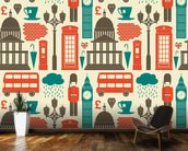 London Background wall mural kitchen preview