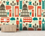 London Background wall mural living room preview