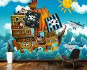 Pirates wall mural kitchen preview