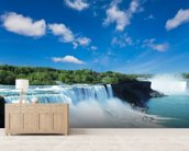 Niagara wall mural living room preview