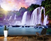 Banyue Waterfall wallpaper mural kitchen preview