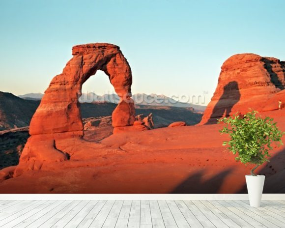 Rock Arch, Arizona mural wallpaper room setting