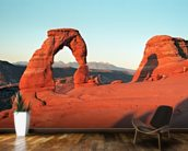 Rock Arch, Arizona mural wallpaper kitchen preview