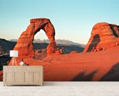 Rock Arch, Arizona mural wallpaper living room preview