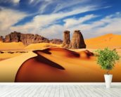 Sahara Desert wall mural in-room view