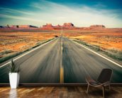 Monument Valley Highway wall mural kitchen preview