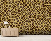 Leopard Skin wallpaper mural living room preview