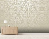 Silver - Wallpaper wall mural living room preview