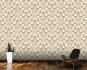 Damask Detailed mural wallpaper kitchen preview