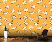 Food wall mural kitchen preview