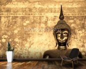 Buddha on Background wallpaper mural kitchen preview