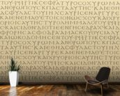 Seamless Scripture mural wallpaper kitchen preview