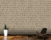 Seamless scripture background wall mural kitchen preview