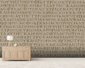 Seamless scripture background wall mural living room preview
