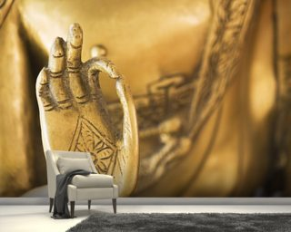 Hand of the Golden Buddha wall mural