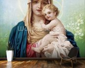 Madonna Maria wallpaper mural kitchen preview