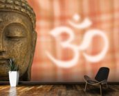 Buddha OM Sign wall mural kitchen preview