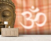 Buddha OM Sign wall mural living room preview