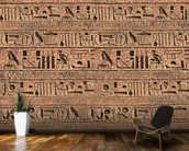 Hieroglyphs mural wallpaper kitchen preview