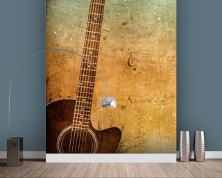 Old Paper Texture wall mural