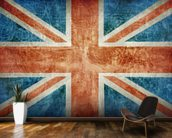 Union Flag mural wallpaper kitchen preview
