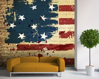 Independence Day mural wallpaper