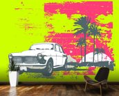 Retro Car wall mural kitchen preview