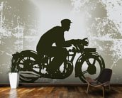 Vintage Motorcycle wall mural kitchen preview