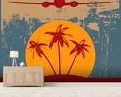 On Vacation wall mural living room preview