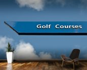 Golf Course Sign wall mural kitchen preview