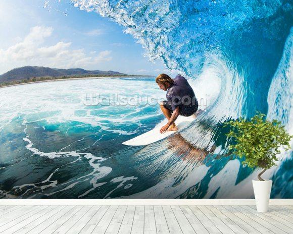 surfing amp wall mural wallsauce usa pics photos surfing wallpaper murals