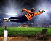 Football Goalkeeper wallpaper mural kitchen preview