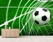Soccer wallpaper mural living room preview