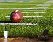 Football Field mural wallpaper kitchen preview