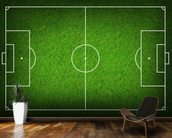 Football Pitch wallpaper mural kitchen preview