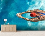 Diving wallpaper mural living room preview