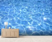 Swimming Pool mural wallpaper living room preview