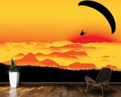 Paraglider wallpaper mural kitchen preview