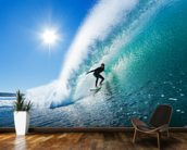 Surfing the Wall wall mural kitchen preview