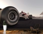 Formula One Racing Car wallpaper mural kitchen preview