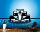 Racing Car wallpaper mural kitchen preview