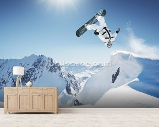 Snowboarding Wallpaper Wall Murals