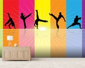 Martial Art wall mural living room preview