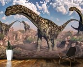 Argentinosaurus Dinosaurs wallpaper mural kitchen preview