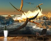 Anhanguera Fishing mural wallpaper kitchen preview