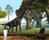 Brachiosaurus wallpaper mural kitchen preview