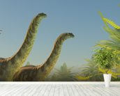 Argentinosaurus in Lake wall mural in-room view