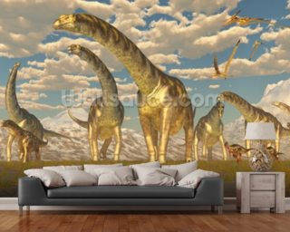 Dinosaur Wallpaper Wall Murals Wallsauce USA